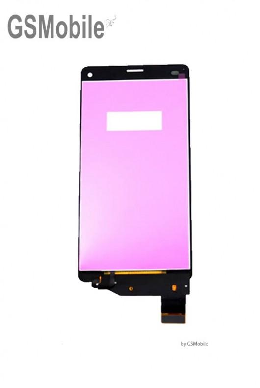 Pantalla completa Sony Xperia Z3 compact D5803 D5833 Negro