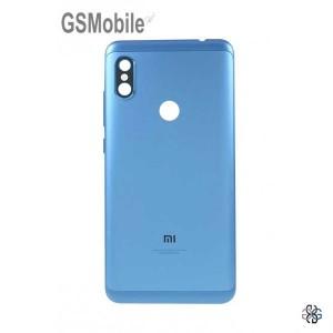 Xiaomi Redmi Note 6 Pro battery cover blue