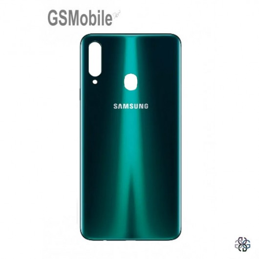 Samsung A20s Galaxy A207F battery cover green