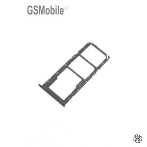 SIM card and MicroSD tray Samsung A20s Galaxy A207F Black Original