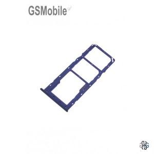 SIM card and MicroSD tray Samsung A20s Galaxy A207F Blue Original