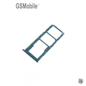 SIM card and MicroSD tray Samsung A20s Galaxy A207F Green Original