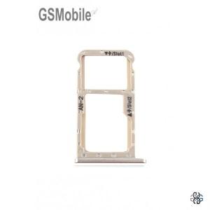 SIM card and MicroSD tray Huawei P20 Lite Gold Original