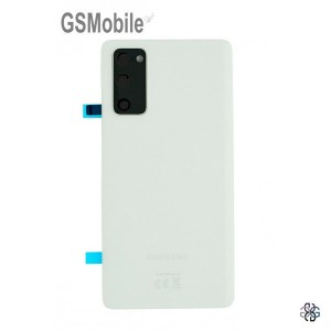 Samsung Galaxy S20 FE G780F battery cover original - White