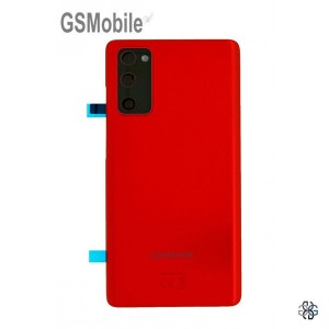 Samsung Galaxy S20 FE G780F battery cover original - Red