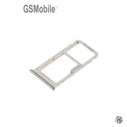SIM card and MicroSD tray Huawei Honor 6C Pro Gold Original