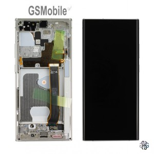 Display for Samsung Note 20 Ultra Galaxy N985 White Original