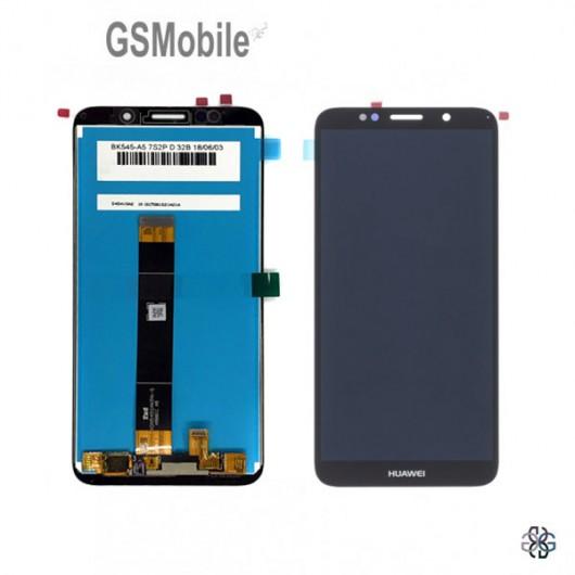 Display for Huawei Y5p Black