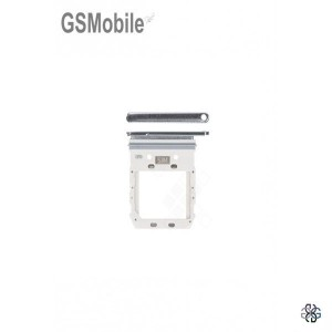 SIM card and MicroSD tray Samsung S10 5G Galaxy G977B Grey Original