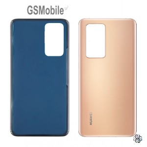 Huawei P40 battery cover gold