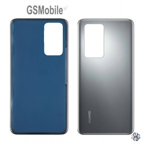 Huawei P40 battery cover silver