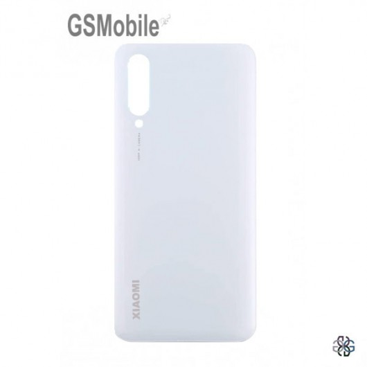 Xiaomi Mi9 Lite battery cover white