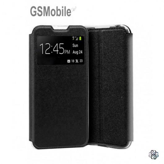 Xiaomi Mi A3 Flip Book Case - black