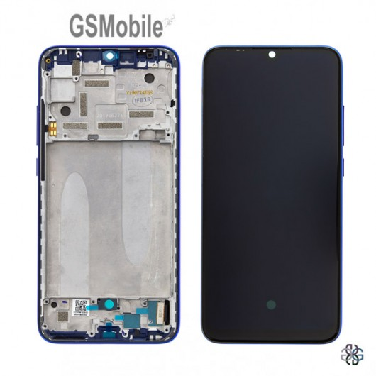 Full LCD Display for Xiaomi Mi A3 Blue