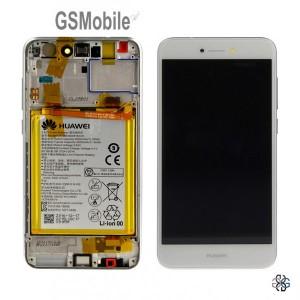 Ecrã - Display LCD Touch Huawei P8 Lite 2017 Oiginal - Branco
