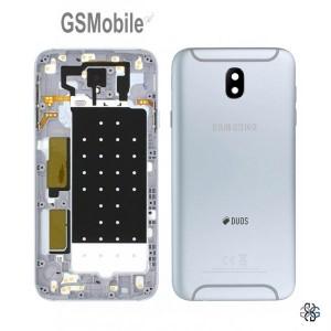 Samsung J7 2017 Galaxy J730F Battery Cover original - silver
