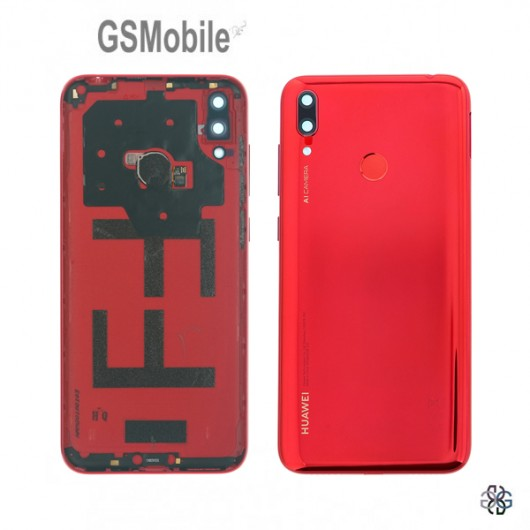 Huawei Y7 2019 battery cover red - Original