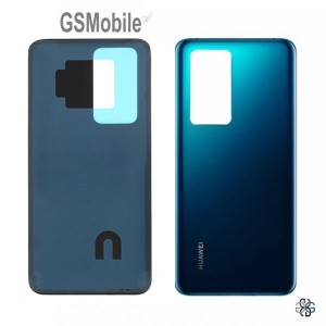 Huawei P40 Pro battery cover blue