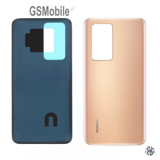 Huawei P40 Pro battery cover gold