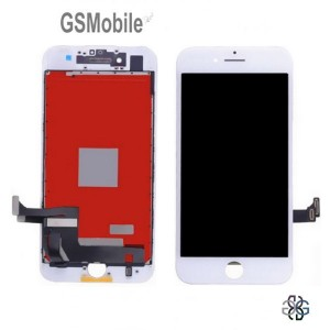 Ecrã - Display LCD Touch iPhone 7 Plus Branco Original