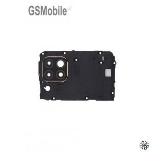 Huawei P40 Lite frame + camera lens black