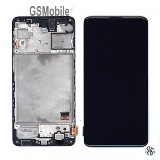 Display Samsung M31s Galaxy M317F Black - Original