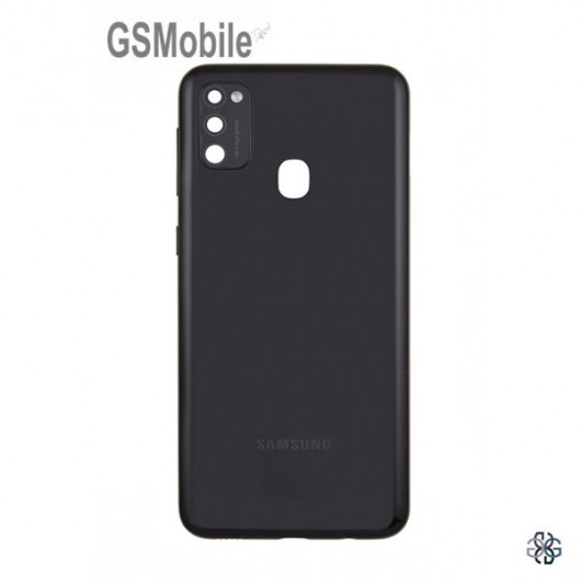 Samsung M21 Galaxy M215F Battery cover Black Original