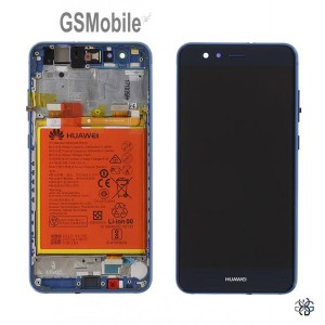 Display for Huawei P10 Lite blue Original