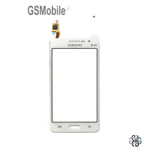 Ecrã Touch Screen branco Samsung Grand Prime Galaxy G530