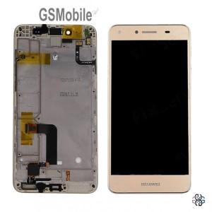 Ecrã - Display LCD Touch Huawei Y5II 4G Dourado Original