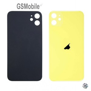 iPhone 11 battery cover yellow