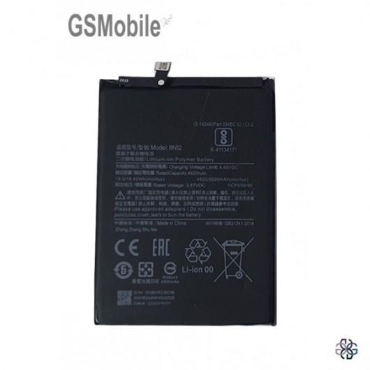 Xiaomi Redmi Note 9 Pro Battery