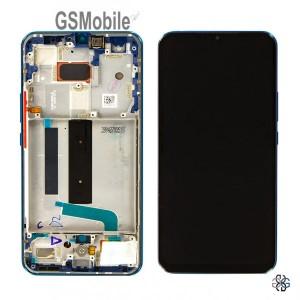 Full LCD Display for Xiaomi Mi 10 Lite 5G Blue Green Original
