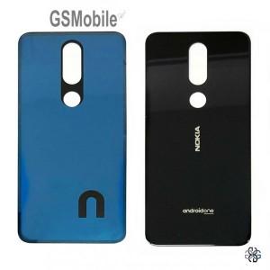 Nokia 7.1 battery cover black blue