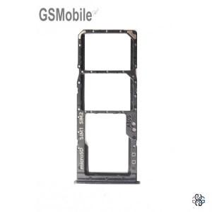 Samsung A30s Galaxy A307F SIM card and MicroSD tray black original