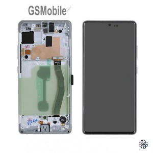 Display for Samsung S10 Lite Galaxy G770F white - Original
