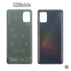 Samsung A71 Galaxy A715F battery cover black