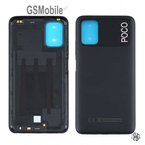 Xiaomi Poco M3 Battery Cover black