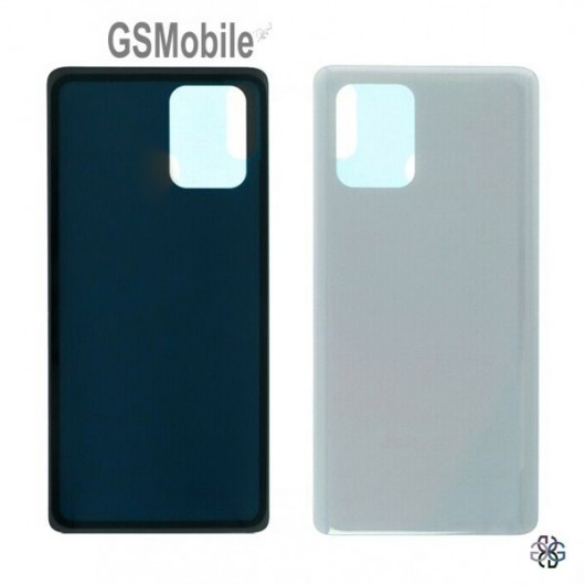 Samsung S10 Lite Galaxy G770F battery cover white