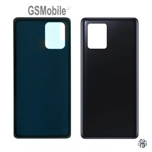 Samsung S10 Lite Galaxy G770F battery cover black