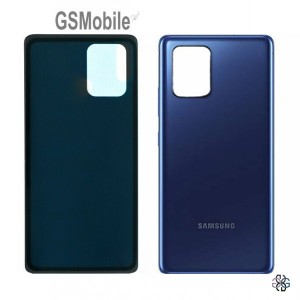 Samsung S10 Lite Galaxy G770F battery cover blue