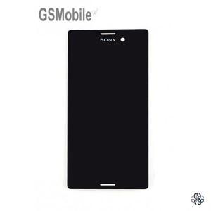 Pantalla completa Sony Xperia M4 Aqua Negro