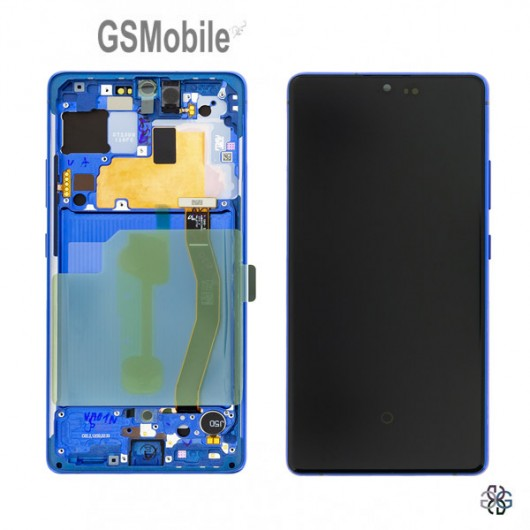 Display for Samsung S10 Lite Galaxy G770F blue - Original