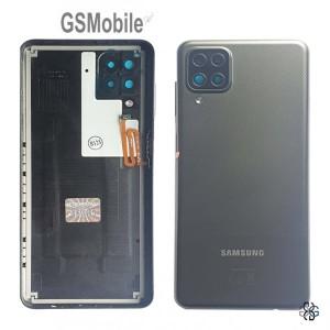 Samsung A12 Galaxy A125F battery cover Black Original