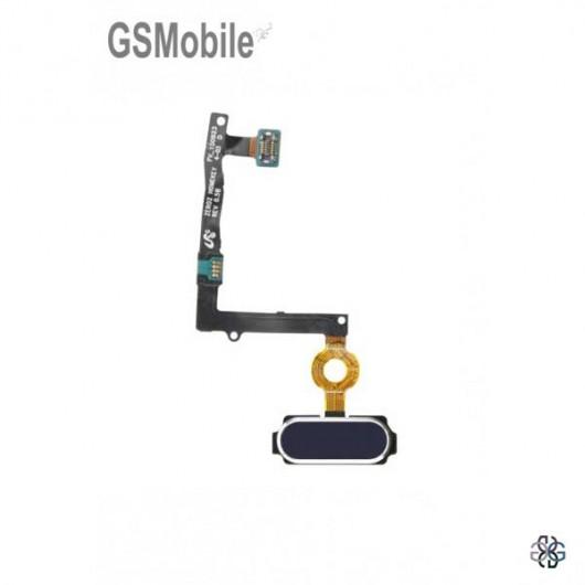Samsung S6 Galaxy G920F Home button black