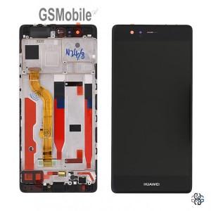 Ecrã - Display LCD Touch com frame Huawei P9 Preto