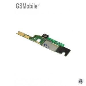 Microfono interior y conector de antena de Sony Xperia M4 Aqua