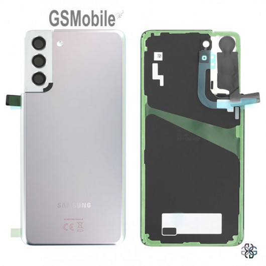 cambiar tapa trasera Samsung S21 Plus 5G - venta componentes Samsung S21 Plus 5G