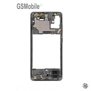 Samsung A51 Galaxy A515F Middle Cover Black - Original