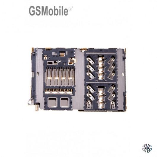 Lector sim & MicroSD Samsung A40 Galaxy A405F